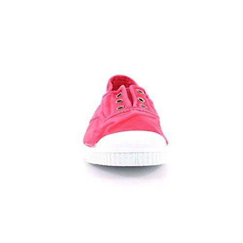 beige 21 scarpe elastico CIENTA Rosa unisex tessuto 70777 27 qOBawnxtg