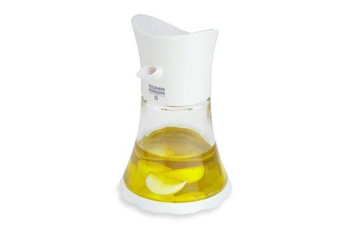 Kuhn Rikon Vase Oil/Vinegar Cruet, White (Rikon Kuhn Cruet)