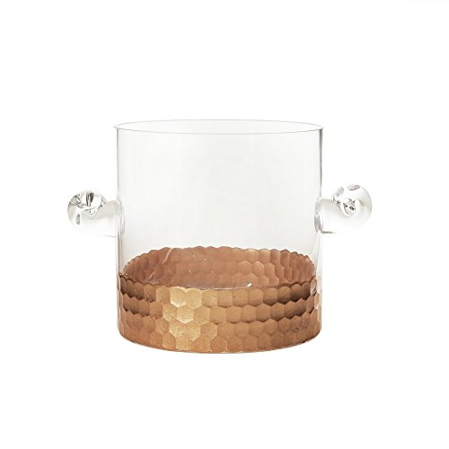 Fitz and Floyd 210532 Daphne Ice bucket, Copper