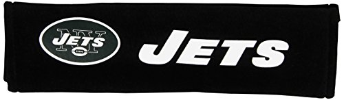 NFL New York Jets Seat Belt Pad (Pack of 2)