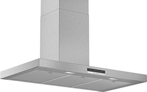 Bosch DWB96DM50 Serie 6 Wandesse/B / 90 cm/acero inoxidable/opcional de recirculación o de aire/TouchSelect/Silence/Intensividad/Filtro de grasa de metal (apto para lavavajillas): Amazon.es: Grandes electrodomésticos