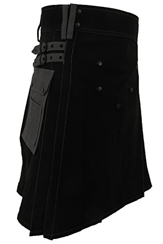 UT Kilts Deluxe Utility Kilt Two Tone Editions (36, Night Fury Edition)