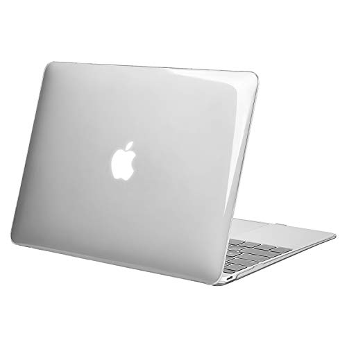 MOSISO Plastic Hard Shell Case Cover Compatible MacBook 12 Inch Retina Display Model A1534 (Version 2017/2016/2015), Crystal Clear