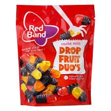 Red Band Drop (Licorice) Fruit Duo