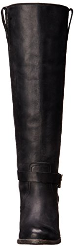 de botas FRYE Malorie equitación Mujer Black Tall Knotted xaxCwn4WqO