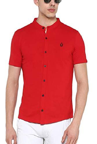 Urbano Fashion Men's Solid Cotton Polo Shirt
