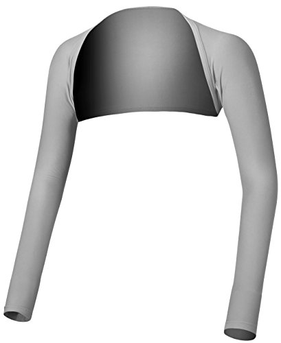 Mega, Performance Shawl Arm Sleeves, Golf, Cycling, Jog, Tennis, Outdoor Activities, Size XL, Grey/Gray (Arm Sleeves For Uv Sunrays Summer Protection)