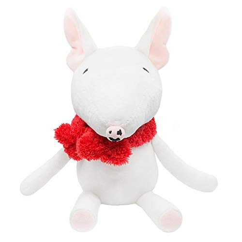 Toy Bull Terrier - FRANKIE ZHOU Stuffed Dog Animal Plush Toy Soft 12