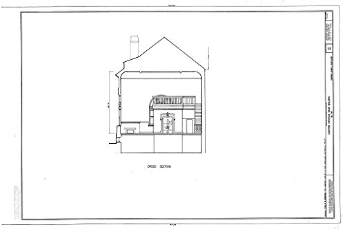 Structural Drawing HABS MD,13-BELA,2- (Sheet 3 of 3) - Harford National Bank, Bel Air, Harford County, MD 66in x ()