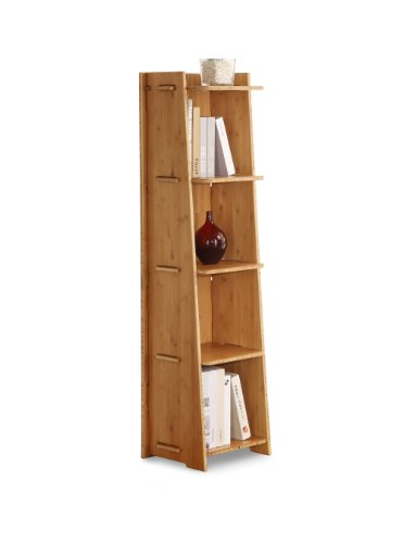 Legare Kitchen Bookcase (Legare Craft Bookcase, 57 by 16-Inch, Amber Bamboo)