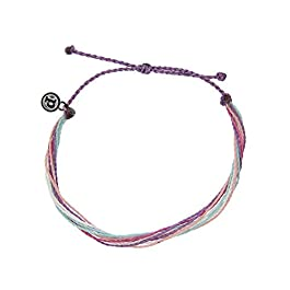 Pura Vida Originals Anklet – Plated Charm, Adjustable Band – 100% Waterproof