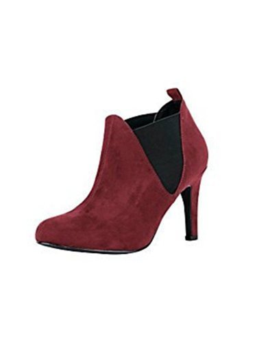 Ankle boots Women from Microfibre from Best Connections Red