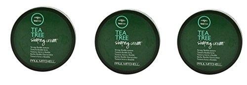 Paul Mitchell Tea Tree EHERsI Shaping Cream, 3 Ounce (Pack of 3) by Paul Mitchell