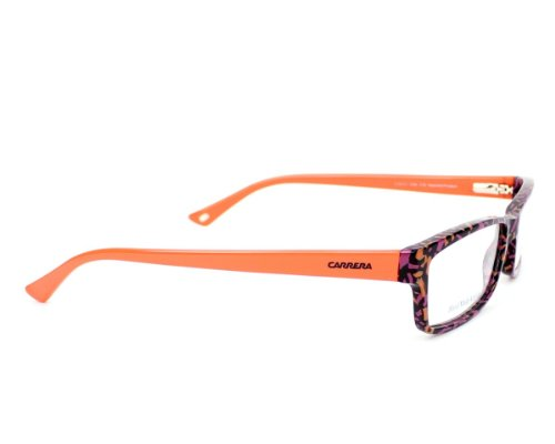Carrera Montures de lunettes Ca6171 Violet Pattern / Orange, 52mm Mix - Orange