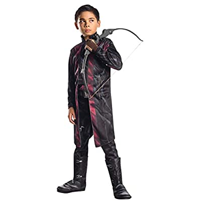 Rubie's Costume Avengers 2 Age of Ultron Child's Deluxe Hawkeye Costume, Small: Toys & Games