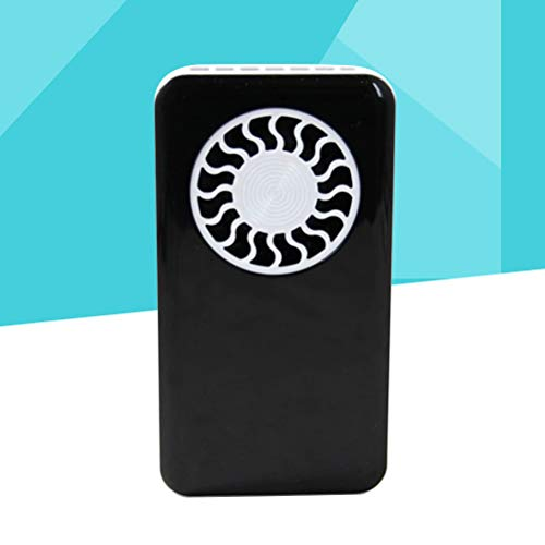 VORCOOL Mini Portable Handheld Fan Cooler USB Rechargeable Desk Fan with Lanyard for Home Office Outdoor Travel (Black) by VORCOOL (Image #8)