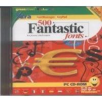 GREENSTREET 500 FANTASTIC FONTS