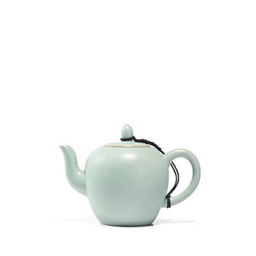 Chinese Style Tea Pot Ru Kiln Celadon Purple Clay Ceramics Arts Tay Thi Tea Set China Teapot Porcelain Yixing Clay Antique Teapot ()