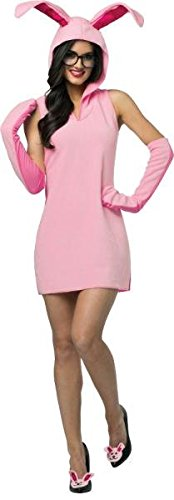 Morris Costumes - Christmas Story Bunny Dress Ad - Standard ()