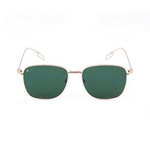 mujer Oscuro Gafas TANNING Verde espejo TWIG sol hombre de Oro degradadas vW60CnOv