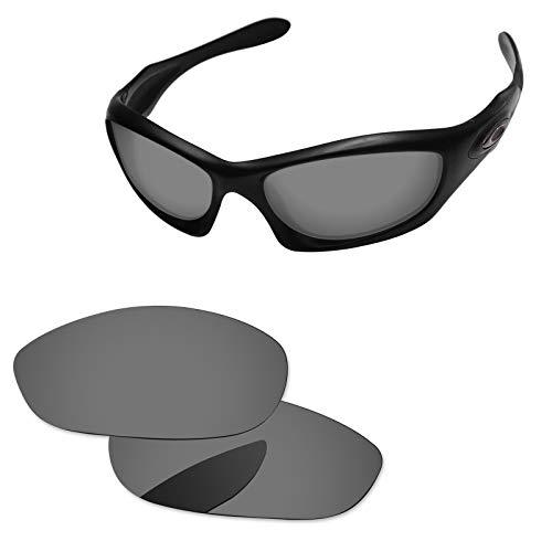 Oak&ban Polarized Replacement Lenses for Oakley Monster Dog Sunglass-Multi Options Black Iridium