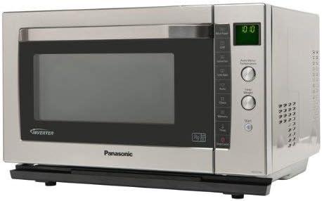 Panasonic NN-CF778SBPQ - Microondas (1400W, 53,1 cm, 53,4 cm ...