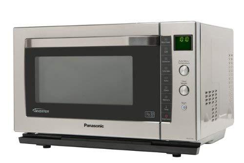 Panasonic NN-CF778SBPQ - Microondas (1400W, 53,1 cm, 53,4 cm, 32,8 ...