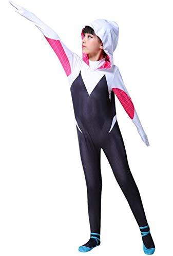 Laszweig Kids Halloween Bodysuit Tights Zentai Cosplay Costume