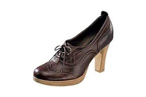 haupteingang Pumps braun - Plataforma de cuero mujer marrón - marrón