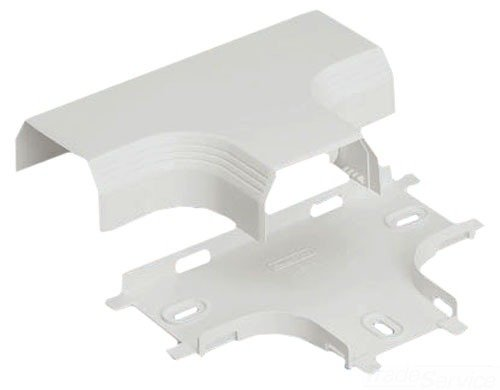 Panduit T45TIW Power Rated Raceway Tee Fitting, Off White (Raceway Tee Cover)