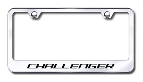 Amazon.com: Dodge Challenger License Plate Frame: Automotive