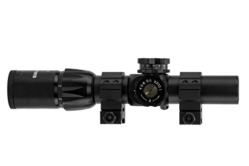 Monstrum Tactical 1-6x24 First Focal Plane (FFP) Rifle Scope with