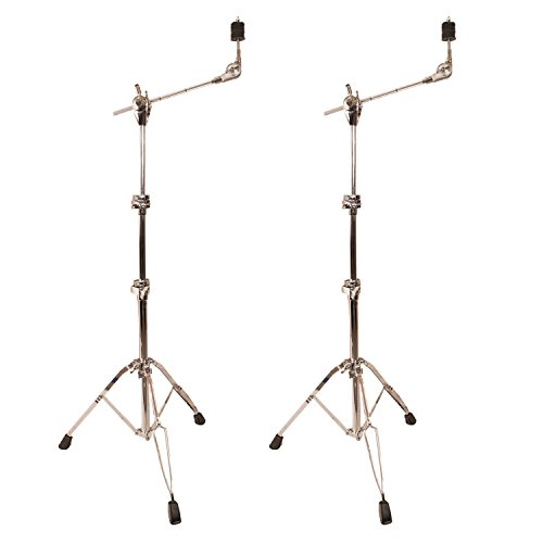 ChromaCast Pro Series Double Braced Cymbal Boom Stand 2 Pack (CC-PS-900-KIT-8 ()