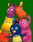"nick jr. The Backyardigans Fleece Throws 40""x 50"""