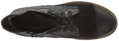 Boots Schwarz Manitu Women's Ankle Black 961567 Black qnzwUtzH