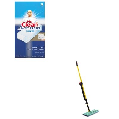 KITPAG82027RCP1835529 - Value Kit - Rubbermaid Pulse Mopping Kit (RCP1835529) and Mr. Clean Magic Eraser Foam Pad (PAG82027) by Rubbermaid