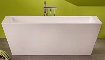 OTTOFOND GRANDE 180x80cm Freistehend Badewanne inkl. Ablauf, eckig ...
