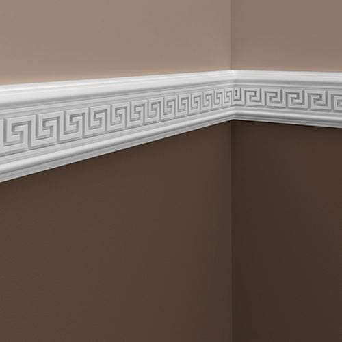 Panel Moulding 151311 Profhome Dado Rail Decorative Moulding Frieze Moulding Timeless Classic Design White 2 m