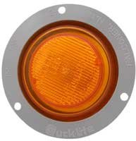 Truck-lite 80819 Led Clearance/marker Lamp W/flange, 2.5'', Amber