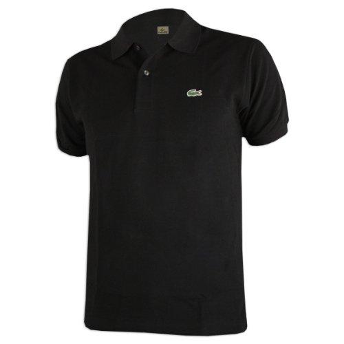 Lacoste Men's Pique - Original Fit Polo Shirt - Black, 6 XL (Mens Lacoste Polo Pique)