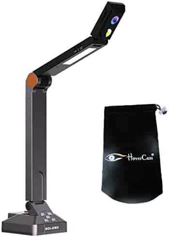 Hovercam Solo 8 Document Camera With Free Carry Pouch