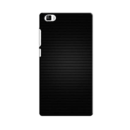 Horizontal Black Lines Back Cover for XIAOMI MI 5: Amazon in