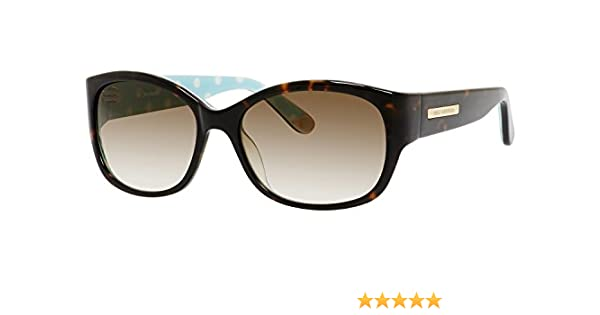 3f4edcfa4734 Amazon.com  Juicy Couture Sunglasses - 551 S   Frame  Dark Havana Dot Lens   Brown Gradient  Clothing