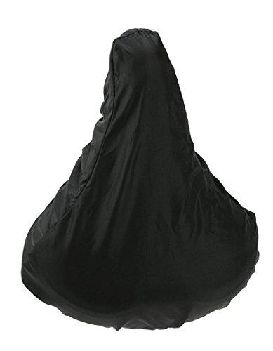 Shirtstown Premium Sattelbezug Fahrrad Regenschutz Schonbezug, Farbe schwarz