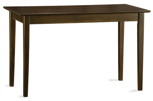 (Shaker Collection Solid Wood Computer Desk in Antique)