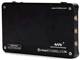 MINI DS212 Oscilloscopio a memoria digitale Nano Portatile Larghezza di banda 1 MHz Frequenza di Campionamento in Tempo Reale 10MSa//s