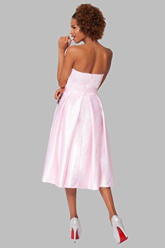 damas Gorgeous Hasta COJ1507 tirantes las rodilla de Babypink c¨®ctel de la sin honor SEXYHER vestido p14wUWqz1