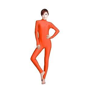 - 31OKNbKbhBL - WOLF UNITARD Women's Unitard Lycra Bodysuit Dance Wear