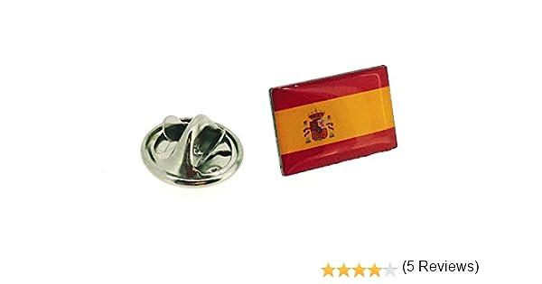 Pin de Solapa Bandera España Version III: Amazon.es: Ropa y accesorios
