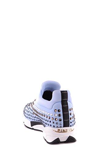 Tela Claro Slip Zapatillas Mujer Pinko Mcbi242224o Azul on HOUUA8n